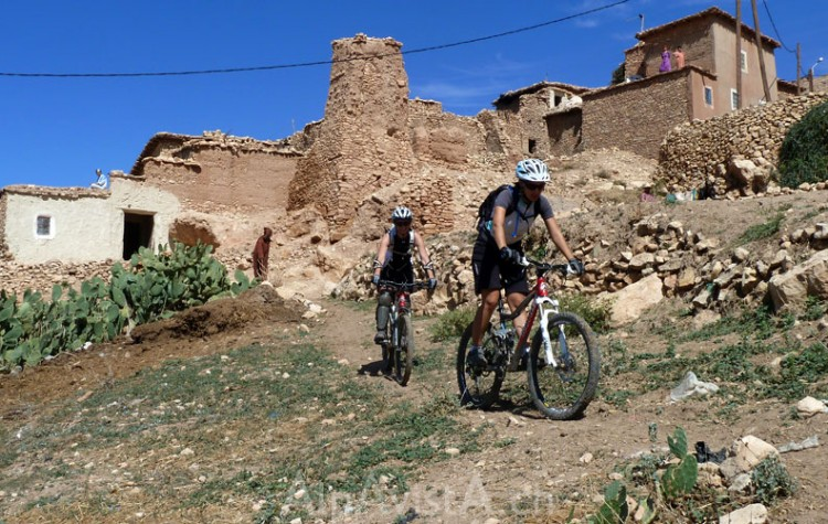 Biking from the Atlas Mountains to Essaouira