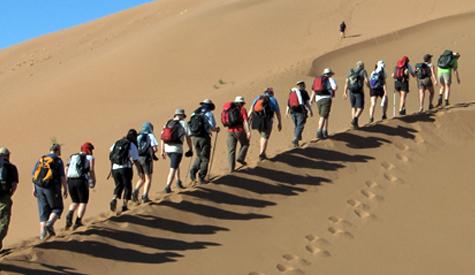 Desert trekking Morocco
