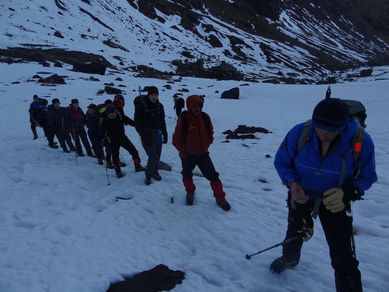 Mt Toubkal Winter climb