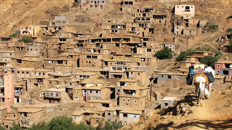 overnight and stay in a berber village