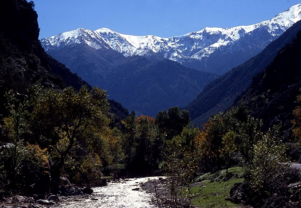trek through Berber Villages